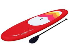 Hydro-Force Oceana Stand-Up Paddle Board - Red, 10.10-Inch