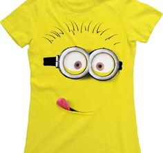 Despicable Me Silly Minion Juniors Lightweight Yellow T-Shirt   L Toy Zany http://www.amazon.ca/dp/B00DP7O006/ref=cm_sw_r_pi_dp_v6-5tb18GVD73