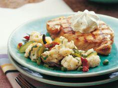 Steak di maiale con insalata di cavolfiore - Ricetta - Cucina di stagione