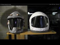 DIY Space Helmets - use for kid/child astronaut costume!