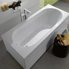 #Rectangular bathtub from Oberon collection | Villeroy & Boch