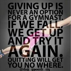 Inspiration for others to hold on to - Leotards Gymnastics Crafts, Gymnastics Tricks, Gymnastics Workout, Gymnastics Pictures, Sport Gymnastics, Artistic Gymnastics, Olympic Gymnastics, Gymnastics Funny, Cheer Quotes