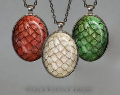 game of thrones dragon eggs pendants