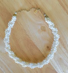 Vintage Pearl Braided Necklace 1928 by ClassicJewelryBox on Etsy
