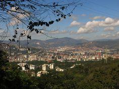 vista de Caracas desde el Avila,caracas,Venezuela.