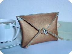 *Tadaam !: Enveloppe en cuir / DIY Tuto