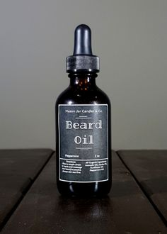 Peppermint Organic Beard Oil