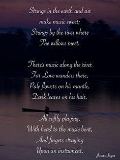 Poem by James Joyce