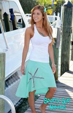 Cute little beach outfit :)