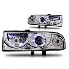 WinJet WJ10-0218-01 | 1999 Chevy S-10 Chrome/Clear Halo Projector Headlights for SUV/Truck/Crossover Auto Headlights, Projector Headlights, Suv Trucks, Car Lights, Custom Cars, Crossover, Chevy, Halo, Chrome
