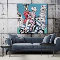 They had the Italian experience (Original Painting) Information Art, Get Gift Cards, Italy Holidays, Romanticism, Fabric Painting, Figure Painting, Contemporary Artists, Pop Art, Original Paintings
