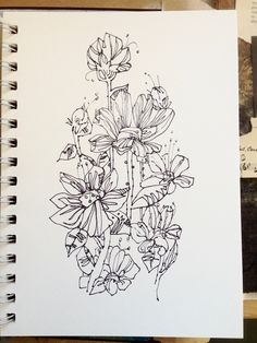 sketch- olivia atherton therandomshoe (dot) etsy (dot) com
