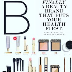 Be the change! Breakup with your makeup - choose safer-your health will thank you! www.beautycounter.com/sarahcotten