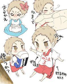 Yaku-san // Team Mom // Haikyuu!!