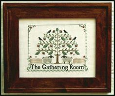 The Gathering Room - Little House Needleworks
