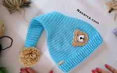 Baby Knitting Patterns, Knitting Designs, Knitting For Beginners, Amigurumi Doll, Baby Hats, Kids And Parenting, Crochet Baby, Knitted Hats, Diy And Crafts