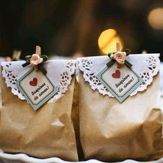 rustico lembrancinha De Noiva Na Praia iDeias Diy Wedding, Wedding Favors, Party Favors, Wedding Gifts, Wedding Day, Cookie Packaging, Planners, Paper Gift Bags, Marry Me