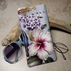 Double Pocket Eyeglass Case Eyeglass by delaMarCollection on Etsy