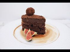 Шоколадный торт Трюфель / Chocolate Truffle Cake - YouTube