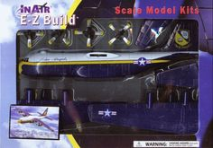 In-Air E-Z Build C-130 Hercules Blue Angels Fat Albert Kit - NIB - Free Shipping #InAir