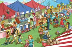 blog 30 x 30: That's Silly, Carnival Midway!