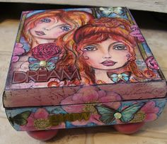 altered wood box
