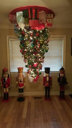 1000 Ideas About Upside Down Christmas Tree On Pinterest