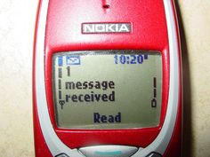 Texting replaced talking! Nokia 3310