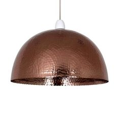 Two of these over the dining table  @lisaannenberg  Myra Hammered Textured Pendant | Dunelm