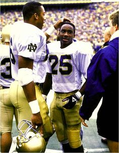 """ND vs Michigan 1989. Like the Irish? Be sure to check out and """"LIKE"""" my Facebook Page https://www.facebook.com/HereComestheIrish Please be sure to upload and share any personal pictures of your Notre Dame experience with your fellow Irish fans!"""