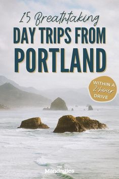 Discover the best day trips from Portland, Oregon in this unique guide to the PNW! We're sharing Portland day trips to the Oregon coast, Mount Hood, Columbia River Gorge, Cascade Mountains and more! | Portland Oregon Day Trips #portland #oregon #oregoncoast #portlanditinerary #PortlandOR #mthood #cascademountains #columbiarivergorge #PNW #pacificnorthwest