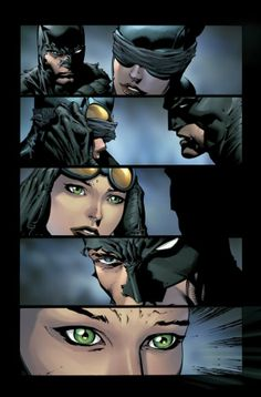 Batman shows Catwoman the Batcave in Forever Evil #4