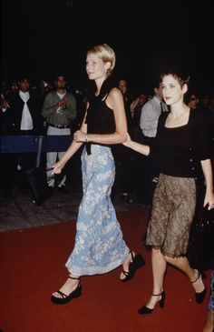 Back when Gwyneth and Winona were friends