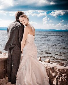 My favorite beach wedding picture EVER!!!! - A Moment of Joy Photography