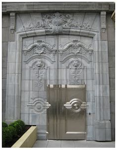 Going to Paris? Keep your stuff safe.    www.clevertravelcompanion.com    Hotel Fouquet Barrière, Paris, another amazong door.