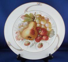KPM Nouveau Fruit Plate