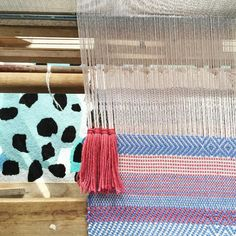 """""""The gals from @welcomeweavers are going to be popping in at 2pm today for a weaving demonstration that you're more than welcome to have a try at too! It's…"""""""