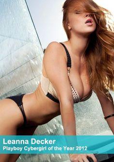Leanna Decker - Playboy Cybergirl of the Year 2012 (set 9)