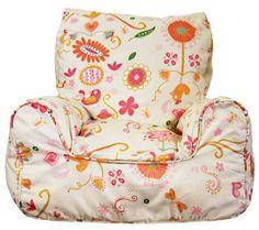 Spring Posies - Bean chair