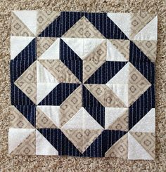 {Sisters and Quilters}: APPLE PIE IN THE SKY QUILT ALONG BLOCK 9 Star Quilt Blocks, Star Quilt Patterns, Star Quilts, Mini Quilts, Pattern Blocks, Big Block Quilts, Half Square Triangle Quilts, Square Quilt, Quilting Projects