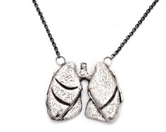 lung necklace... Without them, we would be under water like the fish!!!  Happy RC Week all!!!