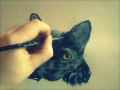 How to Paint a Pet Portrait in Watercolor by Michael DiGiorgio - YouTube