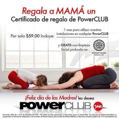 El Mejor regalo para Mama1 mes de GYM en @PowerClubPANAMA a solo B/.59.00 y te llevas 1 Certificado @rossanatabares #CualEsTuExcusa #MamaEntrenaEnPowerClub