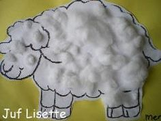 # Make spring- # sheep! Sheep Crafts, Baby Crafts, Preschool Crafts, Farm Projects, Projects To Try, Diy For Kids, Crafts For Kids, Kids Talent, Kids Daycare