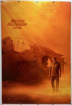 BLADE RUNNER 2049 UK #movie #poster. Denis Villeneuve sequel stars #HarrisonFord #RyanGosling #design by WORKS ADV #BladeRunner2049