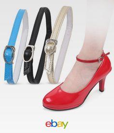 85d2b5802ce 1Pair Removable Shoe Strap High Heel Anti-Loose Buckle Belt Detachable  Accessory
