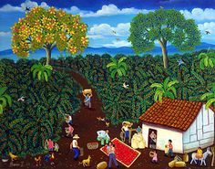 Packing the Coffee by Dario Zamora