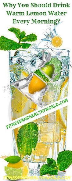#warm #lemon #water #healthy #benefits