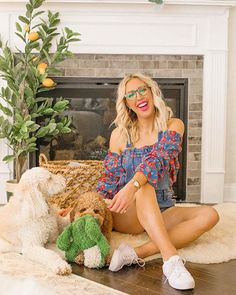 "Time flies playing with my fur babies🐶, but when I actually want to keep track of it I love wearing my rose gold @mvmtforher Lexington watch and matching stud bangle✨💛. ✨ ✨ Y'all also know I've been obsessed with my blue-light blocking glasses 🤓so can we talk about how cute these @mvmt Everscroll glasses are?! They are under $60 and SUPER cute!! Use discount code ""JULIANNA"" for 15% off your entire purchase! #mvmtambassador #jointhemvmt #ad"