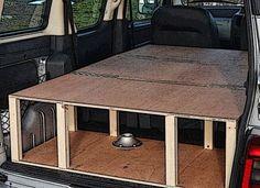 Renault Kangoo camper boot solution